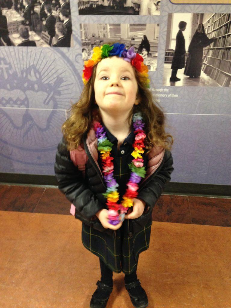 Riley flower girl