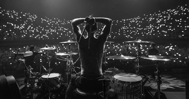 Travis Barker photo by Adam Elmakias