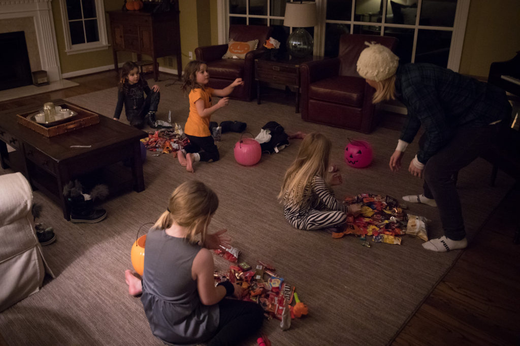 Sorting of the Halloween Candy